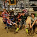 The Jr's who attended the shows with us. We had so much fun! 2014 Boulder County Fair & WY State Fair 054